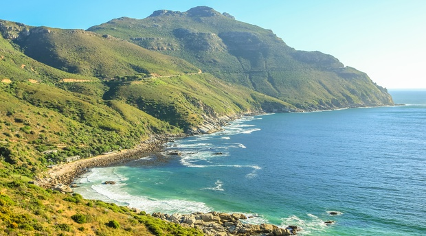 Chapmans Peak drive situated close to Hout Bay and one of the most scenic drives in the world