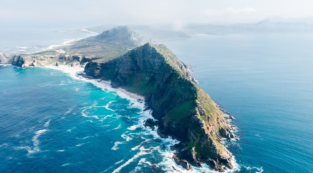 Cape Point situated inside the Cape of Good Hope Nature Reserve